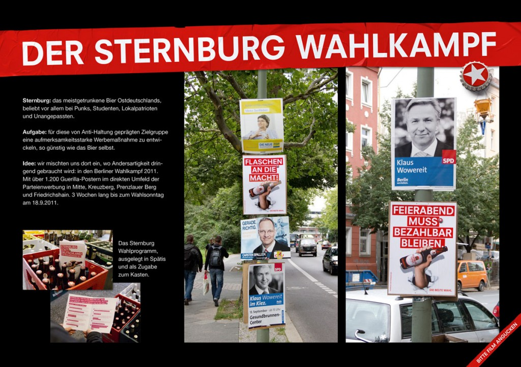 Sternburg-Wahlkampagne